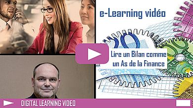 Digital Learning Lire un bilan comptable