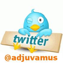 Bouton adjuvamus sur twitter